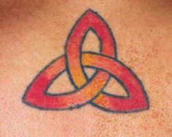 Celtic Triquetra Knot Tattoos