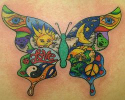 New Butterfly Tattoos