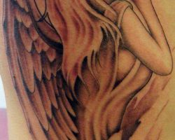 Guardian Angel Tattoos Small