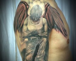 Images Of Angel Tattoos