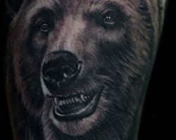 Grizzly Bear Tattoos Designs