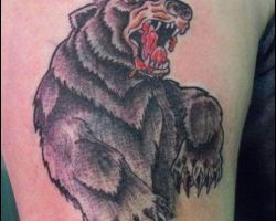 Teddy Bear Tattoos Images