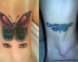 Butterfly Tattoo Cover Up