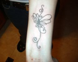 Butterfly Tattoos On Wrist Designs