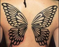 Butterfly Tattoos With Names In Them
