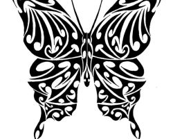 Tattoo Tribal Butterfly