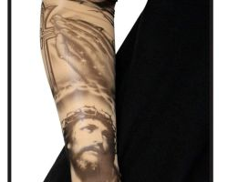 Sleeve Tattoos With Crosses