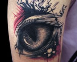 Cat Eyes Tattoos Pictures