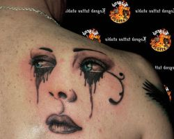 Crying Eye Tattoos