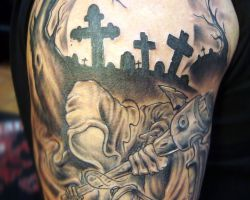 Grim Reaper Tattoos Pictures