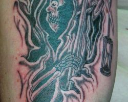 Images Of Grim Reaper Tattoos