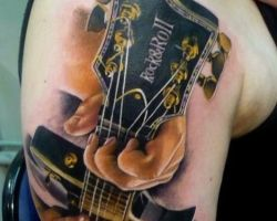 Guitar Tattoo Pics
