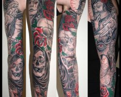 Pics Of Sleeve Tattoos