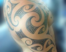 Shoulder Half Sleeve Tattoos