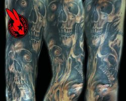 Tattoo Sleeve Ideas Skulls