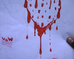 Bloody Heart Tattoo Designs