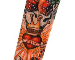 King Of Hearts Tattoo Designs