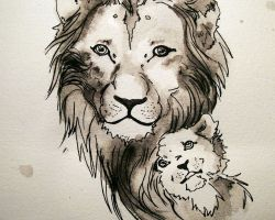 Lion Cub Tattoos