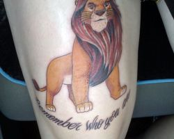 Lion King Tattoos Designs