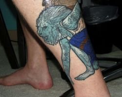 Lions Tattoos For Men
