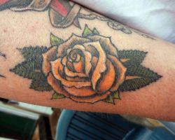 Red Rose Tattoos Meaning