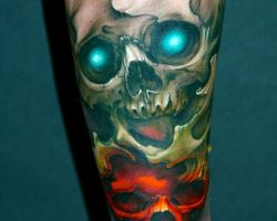 Awesome Skull Tattoo Designs
