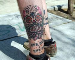 Mexican Sugar Skull Tattoo Pictures