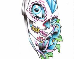 Sugar Skulls Pictures For Tattoos