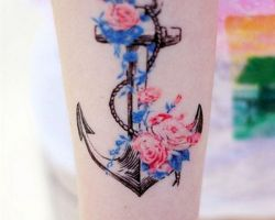 Anchor Tattoos Ideas For Girls