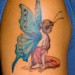 Butterfly Angel Tattoos