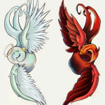 Devil And Angel Tattoo Ideas