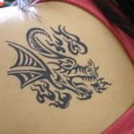 Dragon Tribal Tattoos Meaning