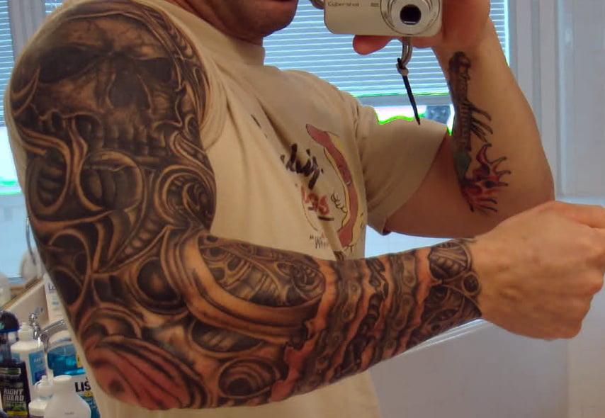 Skull Tattoo Designs For Sleeves