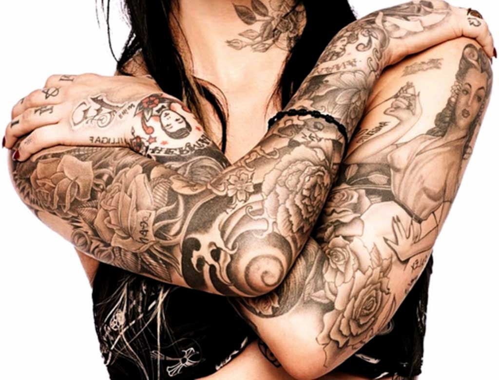 Womens Full Sleeve Tattoo Designs