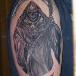Angel Of Death Tattoos For Men
