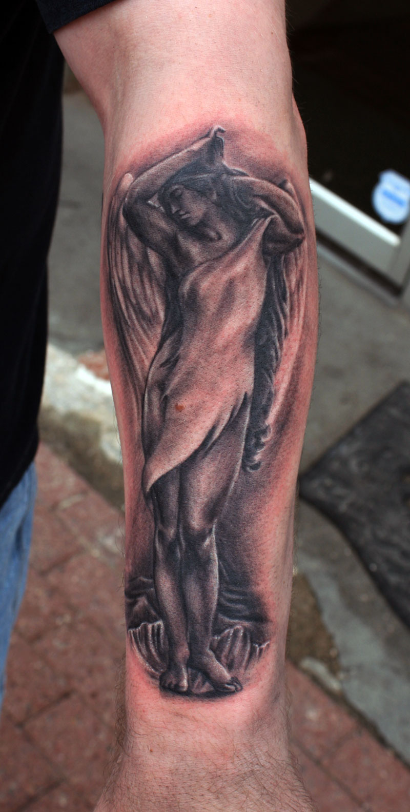Angel Tattoo For Men On Arm | Cool Tattoos - Bonbaden