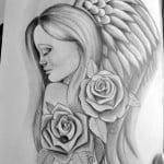 Angel Tattoos Drawings