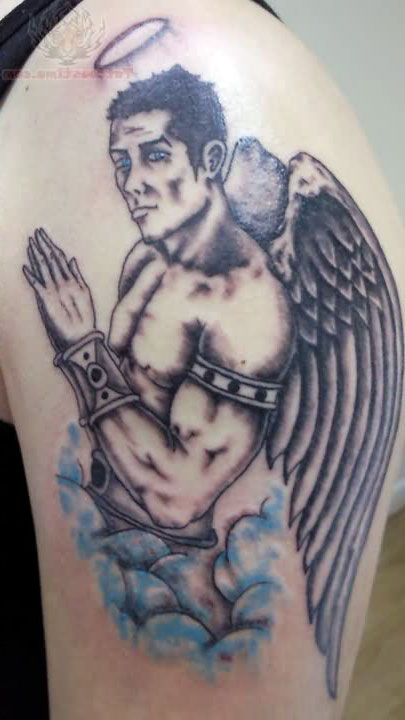 Angel Tattoos For Men Shoulder