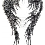 Angel Wing Tattoo Designs Free