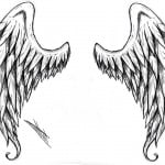 Angel Wing Tattoos Designs