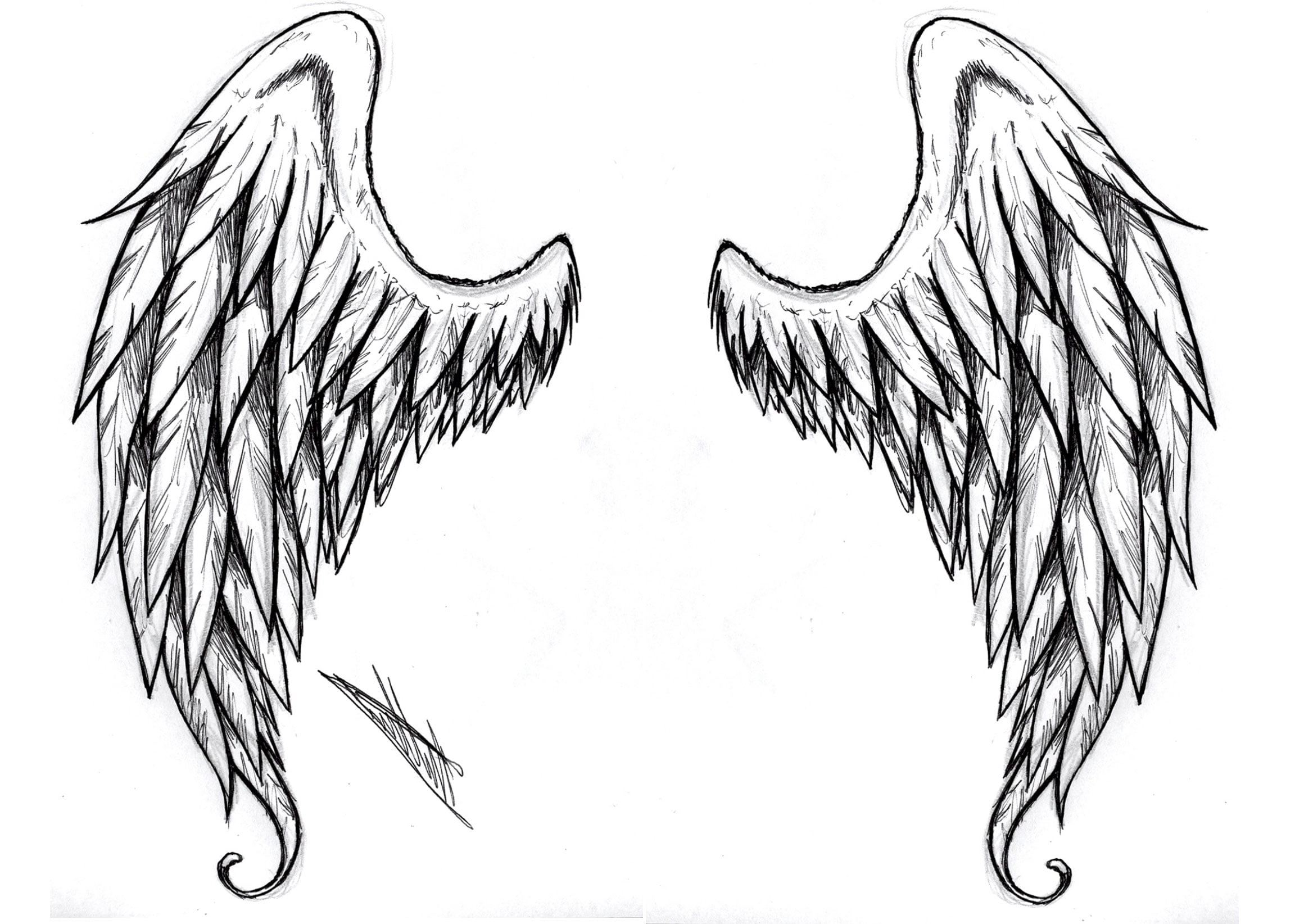 Designs Pin Angel Wing Tattoos And Ideas On Pinterest