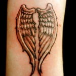 Angel Wing Tattoos Pictures
