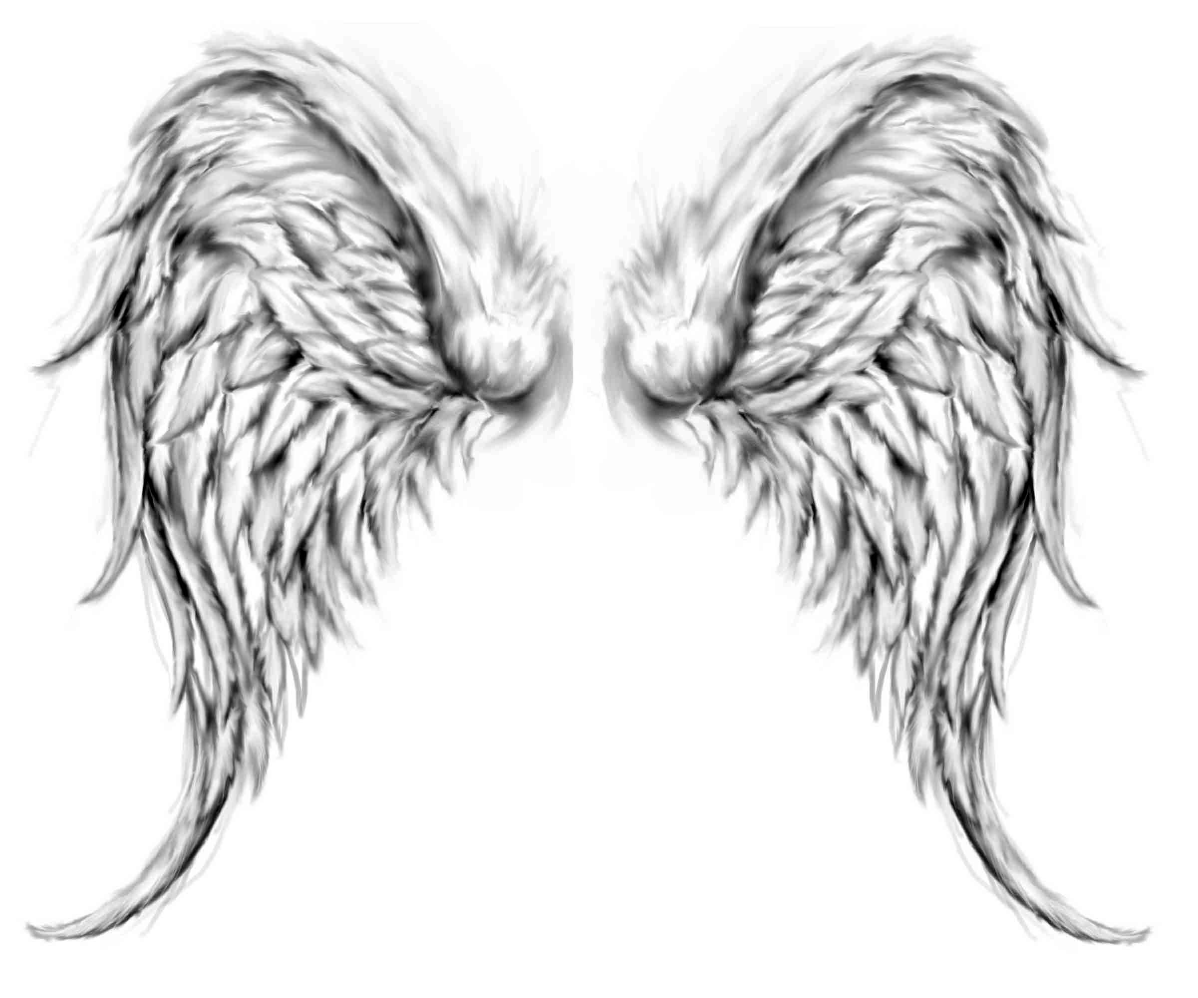 angel wings tattoo pictures cool tattoos bonbaden