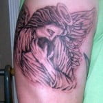 Baby Angel Tattoos Designs