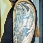 Dark Angel Tattoo Pictures