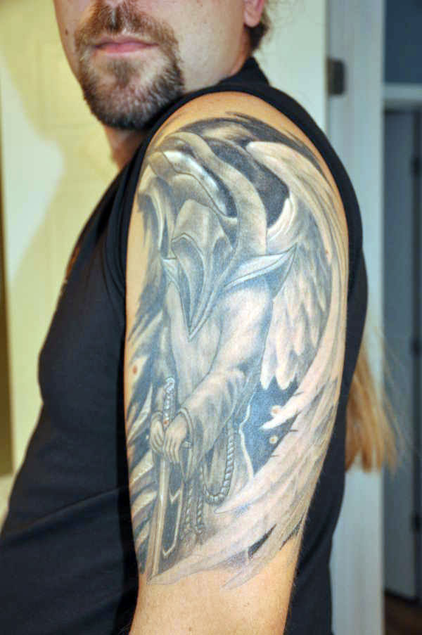 Dark Angel Tattoo Pictures