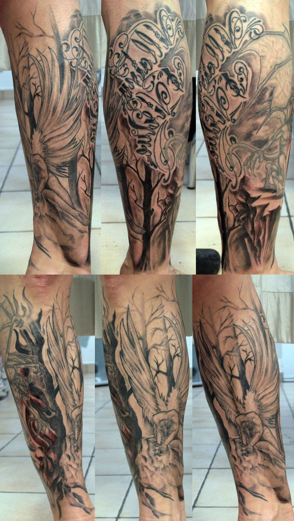 Fallen Angel Tattoo Ideas