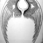 Fallen Angel Wing Tattoos