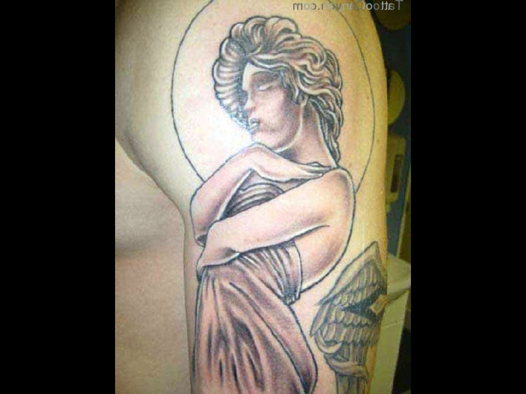 Guardian Angel Tattoo Design Cool Tattoos Bonbaden
