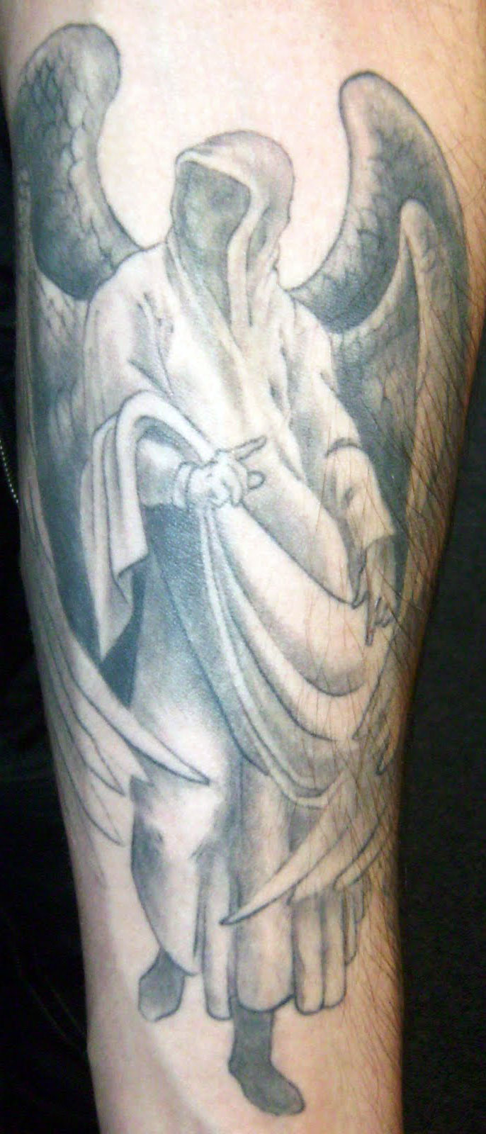 Guardian Angel Tattoo Pictures